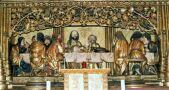 Posledná večera z predely hlavného oltára sv.Jakuba.